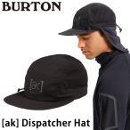 帽子 BURTON バートン  [ak] Dispatcher Hat ディスパッチャ ハット