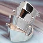 戒指 - \送料無料!/指輪 シルバーリング アーマーリング メンズ リング r0276