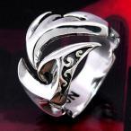 戒指 - 送料無料  シルバーアクセサリー シルバーリング 指輪 メンズ リング トライバル r0434