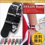 NATO 腕時計 ベルト ナイロン ( シングルブラック : 20mm ) バンド 交換マニュアル付 / 2PiS 17-1-20