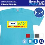 Tシャツ スイマー用 レディース メンズ 半袖Tシャツ ドライ S/M/L/XL バタフライ Tシャツ SWIM JAPAN 競泳/水着/ゴーグル/水泳/スイミング