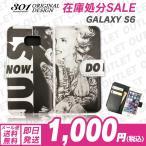 在庫処分セール GalaxyS6 手帳型ケース マリリンモンロー タトゥー 人気 おしゃれ 手帳ケース メール便送料無料
