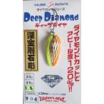 ディープダイヤ 1.5g W04 ゴールド/チャートオレ