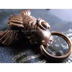 Bronze 銅製 ドロップハンドル Carp/鯉 Goodvibration BRAND グッドバイブレーション 革財布リング 革小物カスタムパーツ