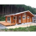 ログハウス ミニログハウス プレハブ パネスハウス ブルザス30−60平屋(受注生産品)