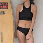 ショッピングHIGH High-neck Sports Bikini《BLACK》