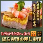 ばら寿司の押し寿司 ちらし寿司 おめでたい日におすすめ バラスシ