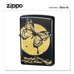 ショッピングzippo ZIPPO ジッポー ジッポライター ムーンライトシャドウ 2MLS-BU バタフライ