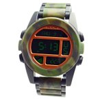 NIXON ニクソン 腕時計 メンズ THE UNIT SS ユニットSS マットブラック/カモ デジタル メンズウォッチ 男性用 A360-1428 A3601428