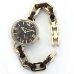 マイケルコース 腕時計 レディース MICHAEL KORS ラインストーンベゼル べっこうインデックス ブレスウオッチ MK4281