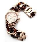 マイケルコース 腕時計 レディース MICHAEL KORS ピンクゴールドカラー べっこう柄 チェーンブレスレットウオッチ MK4269