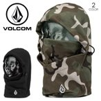 ショッピングvolcom VOLCOM フェイスマスク メンズ STONE HOOD WARMER 2017-2018 J67518JB ブラック/グレー ワンサイズ