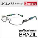 less than human(レスザンヒューマン)BRAZIL 3カラーメンズ メガネ 眼鏡 サングラス