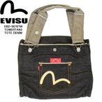 EVISU EBD-0076TW-001-00 TOWERTAN3 TOTE MEDIUM タワタン3 トート カモメマーク トートバッグ エヴィスバッグ