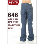 LEVI'S MADE IN USA BELL BOTTOMS JEANS リーバイス 646 デッドストック ジーンズ ベルボトム 646-0217