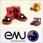 ブーツ キッズ emu LITTLE CREATURES MINI エミュ ムートンブーツ シープスキン キャラクター 靴 子供 女の子 男の子 正規品 新品