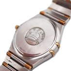 OMEGA オメガ コンステレーション メンズ クオーツ 腕時計 1212.30 SS YG コンビ ホワイト文字盤【本物保証】