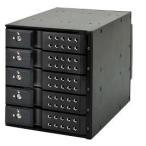 """センチュリー BPN-DE350SS-BK サーバー用リムーバブルラック[SATA 3.5""""HDD対応 5Bay HDDマウントラック](ブラック)"""