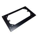 親和産業 SS-NATXCP-B [ ATX電源変換プレート]  MicroATX電源(SFX)をATX規格のケースに取り付け【少量在庫有り!】