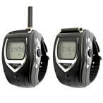 免許・資格不要 アウトドア用無線機 [FRC/エフ・アール・シー] 腕時計型 特定小電力トランシーバー FT-20W