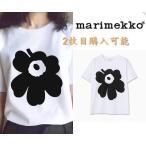 Marimekko マリメッコ Tシャツ 丸首 カットソー メンズ レディース 半袖Tシャツ Unikko 夏 カジュアル 男女兼用 送料無料