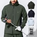 ゴルフウェア メンズ ジャケット / ストレッチ 2パネル ジャケット / ゴルフ ウェア メンズ 春 秋 冬 おしゃれ 長袖 S/M/L/XL レインウェア ウィンドブレーカー