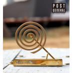 蚊取り線香入れ 蚊取り線香 ホルダー ビンテージ 真鍮 POST GENERAL / ポストジェネラル ブラス モスキートコイルホルダー IGF