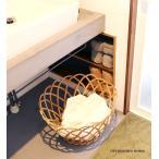 アラログ丸バスケットL (鉢カバー)  500WORKS. 大型 ランドリー 洗濯かご かご 天然素材 AROROGSTORAGE 籠 Creer/クレエimg_slide04