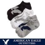 ショッピングアメリカンイーグル アメリカンイーグル 靴下 ソックス 3足セット American Eagle ae-a111 送料無料