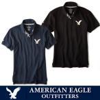 アメリカンイーグル ポロシャツ 半袖 メンズ AE American Eagle ae1705 Navy Black