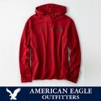 アメリカンイーグル メンズ アクティブワッフルフーディー パーカー American Eagle AE ae1917 レッド