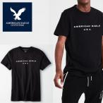 アメリカンイーグル 半袖 Tシャツ USAモデル メンズ AE American Eagle 正規品 ae2017 ブラック