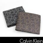 カルバンクライン 財布 CALVIN KLEIN CK モノグラム レザー ck316