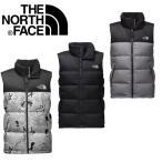 ノースフェイス ダウン ベスト TheNorthFace Nuptse Down Vest fa03 ブラック レッド グレー C760