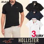 ホリスター メンズ ポロシャツ Hollister  h1400 グレー クールビズ