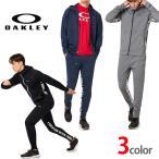 オークリー セットアップ トレーニングウエアー ジャージ  速乾 吸汗 OAKLEY  Enhance Grid Fleece XLサイズ有り oa311 ブラック グレー ネイビー