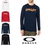 オークリー スポーツ ロングTシャツ  OAKLEY   白 黒 ネイビー レッド oa324 USAサイズ 大きい コットン100%