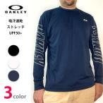 オークリーOAKLEY  ロンT ロングTシャツ 長袖Tシャツ メンズ 吸汗速乾 UPF50+ oa406
