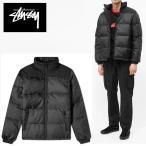 米国正規品 STUSSY  ステューシー ダウンジャケット  Puffer Jacket ブラック  (並行輸入品) st01