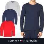 トミー ロングTシャツ TOMMY HILFIGER メンズ ロンT トミーヒルフィガー t458 ネイビー レッド グレー