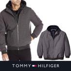 ショッピングHILFIGER TOMMY HILFIGER トミーヒルフィガー メンズ  ボンバー 中綿 ジャケット ジャンパー t478 チャコール