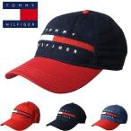 トミー ヒルフィガー ベースボールキャップ 帽子 CAP HAT TOMMY HILFIGER t511 ネイビー レッド  デニム メンズ レディース ユニセックス