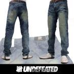 UNDEFEATED UNDFTD アンディフィーテッド メンズ ダメージジーンズ ud12