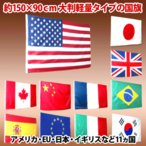 国旗 フラッグ 11カ国 日の丸 星条旗  Japan 日本/USA アメリカ/France フランス/UK イギリス/Canada カナダなど