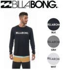 ビラボン BILLABONG メンズ 長袖 ラッシュガード ラッシュTシャツ ラッシュティーシャツ 海水浴 プール UVカット M・L・XL 3カラー