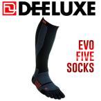 ディーラックス DEELUXE ThermoSocks Evo Five サーモソックスエヴォファイブ S〜L 靴下 5本指