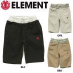 エレメント ELEMENT ボーイズハーフパンツ 半ズボン ショートパンツ 男の子用 チノパン