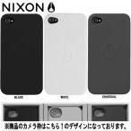 NIXON ニクソン MATTE JACKET IPHONE 4 CASE iPHONEソフトPUケース アイフォンケース ロゴマーク
