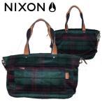 NIXON ニクソン レディースバッグ 2WAYショルダーバッグ トートバッグ ALMA MATER SATCHEL PLAID