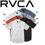 RVCA ルーカ THATLL DO OXFORD S/S メンズ半袖ワイシャツ トップス ボタンシャツ ロゴ